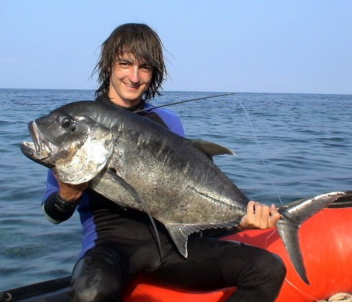 Spearfishing catch